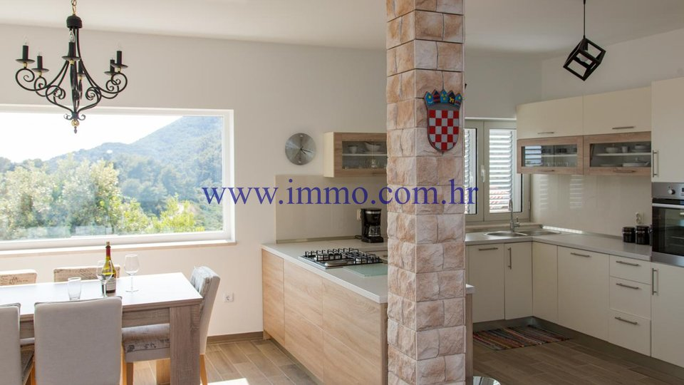 KORČULA, GORGEOUS VILLA WITH FANTASTIC SEA VIEW