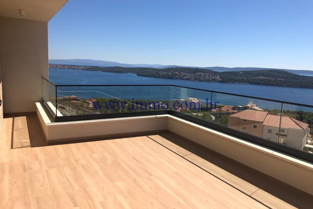 NEW VILLA WITH SEA VIEW NEAR TROGIR