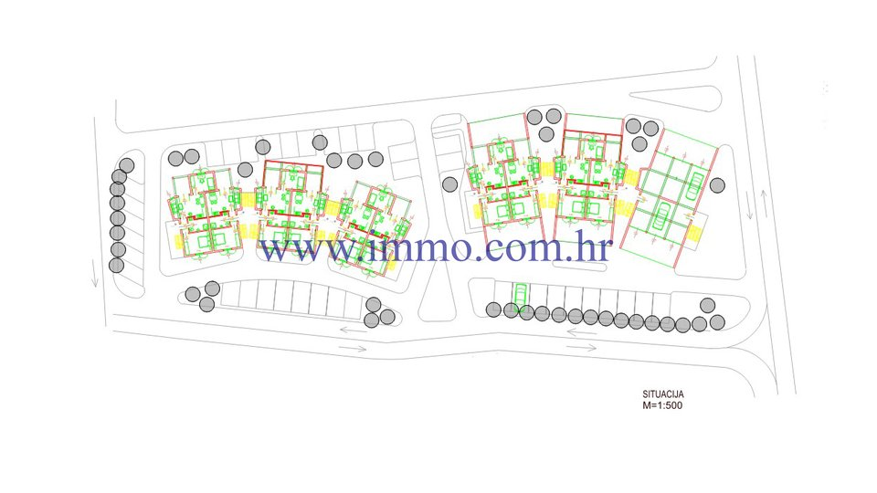 BRAČ, ATTRACTIVE LAND WITH LOCATION PERMIT