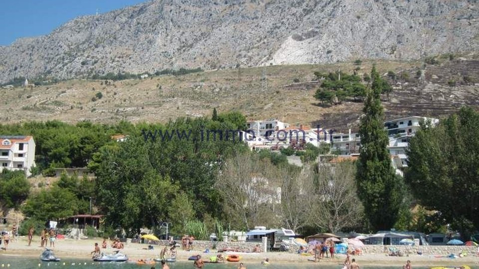 OMIŠ AREA, BUILDING LAND WITH THE SEA VIEW